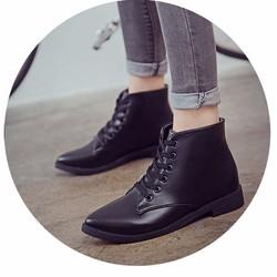 Giày bốt nữ sành điệu, trẻ trung - Mã số MM90146