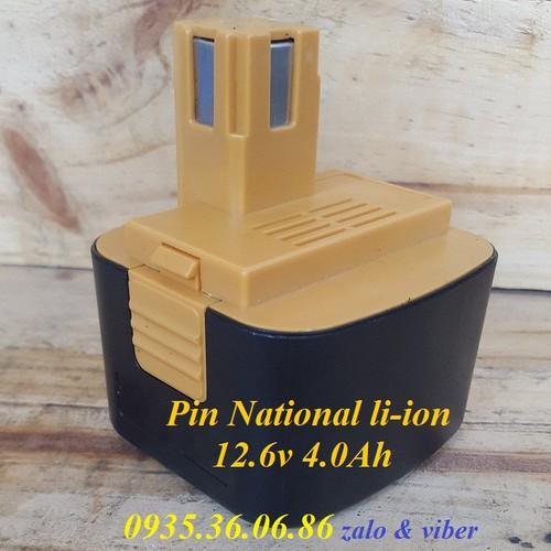 Pin máy khoan national 12v 4ah