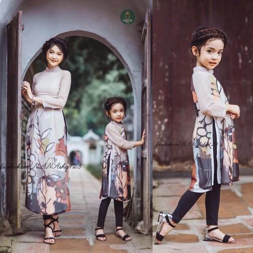 Bt931 - sét áo dài mẹ và bé in họa tiết 3d duyên dáng - 16921083 , 7809682 , 15_7809682 , 370000 , Bt931-set-ao-dai-me-va-be-in-hoa-tiet-3d-duyen-dang-15_7809682 , sendo.vn , Bt931 - sét áo dài mẹ và bé in họa tiết 3d duyên dáng