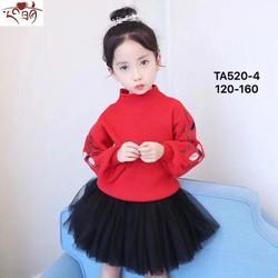 Áo len đẹp cho bé gái