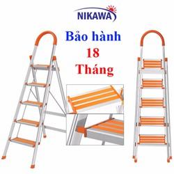 Thang nhôm rút cũ thang nhôm nikawa