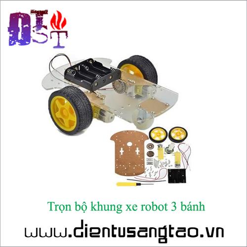 Trọn bộ khung xe robot 3 bánh - 16920485 , 7802145 , 15_7802145 , 115000 , Tron-bo-khung-xe-robot-3-banh-15_7802145 , sendo.vn , Trọn bộ khung xe robot 3 bánh