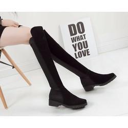 Giày bốt nữ sành điệu, trẻ trung - Mã số 590156