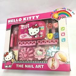 đồ chơi làm Nail Hello Kitty KT255
