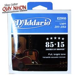 Dây Guitar Acoustic DAddario