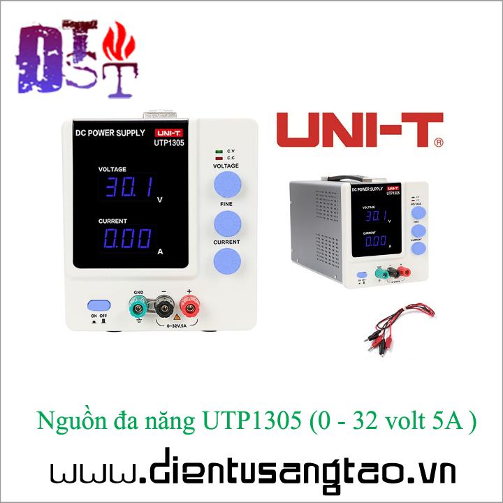 Nguồn đa năng UTP1305   0 - 32 volt 5A 1