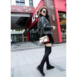 Giày bốt nữ sành điệu, cá tính - Mã số 590035