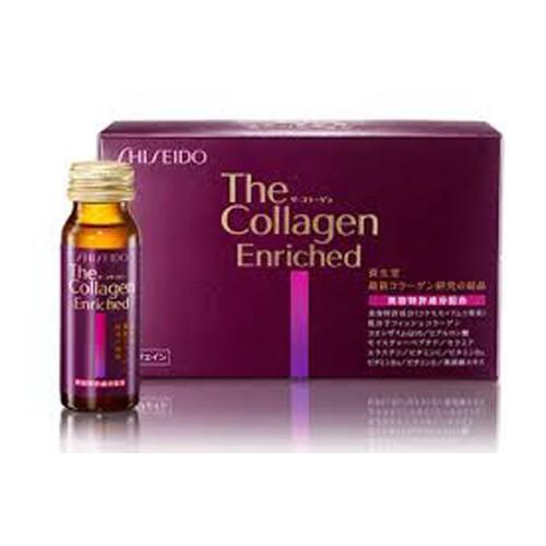 Combo 3 chai tInh chất Shiseido The Collagen Enriched 50ml Nhật