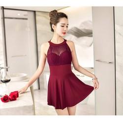 váy bơi  liền thân phong cách Hàn Quốc M6260