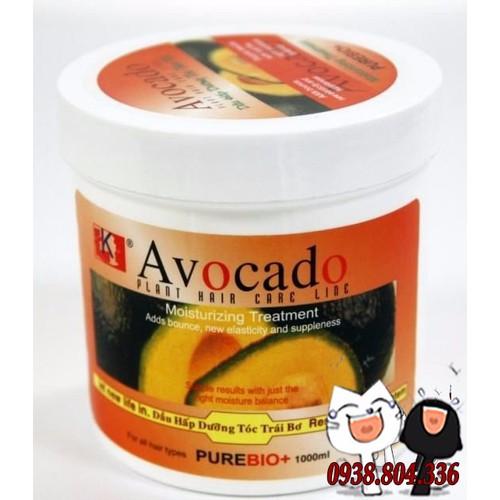 Kem ủ mượt tóc trái bơ Avocado 1000ml