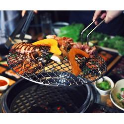 Buffet Lẩu Nướng tại Nhà hàng Buffet BBQ  Hot Pot Asi Deli Tòa nhà Hà Nội Center Point Lê Văn Lương