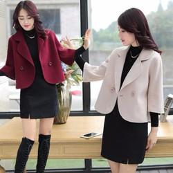 Áo khoác dạ nữ kiểu Hàn Quốc - giá 720k -A3123