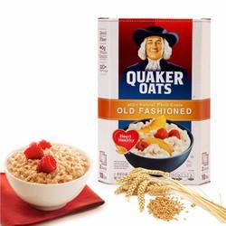 Bột yến mạch Quaker Oats nhập khẩu Mỹ 4,53kg