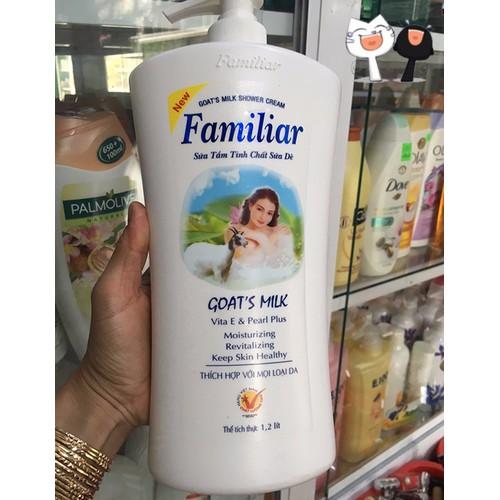 sữa tắm familiar 1,2l