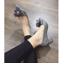 giày cao gót thắt nơ cực đẹp