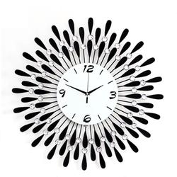 Đồng hồ treo tường hướng dương sương mai cao cấp NX882
