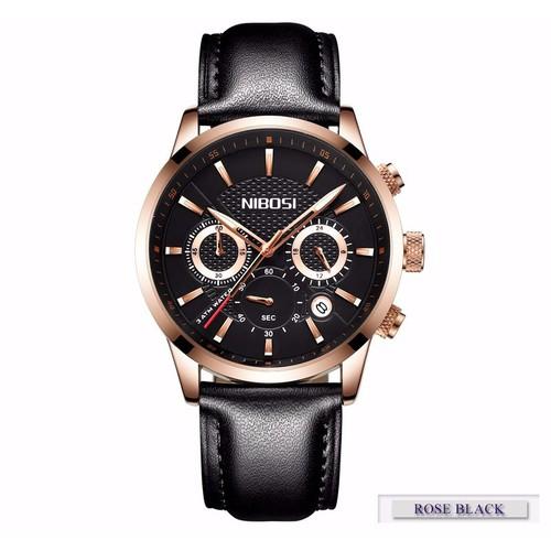 đồng hồ dây da chính hãng nibosi