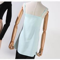 Áo 2 dây phối chân váy