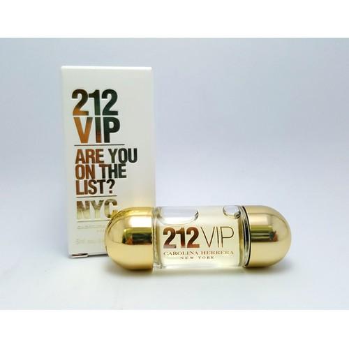 Nước hoa mini Nữ CAROLINA HERRERA 212 VIP EDP 5ml