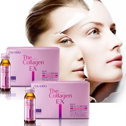 Nước uống  The Collagen EX Shiseido trắng da chống nám lão hóa 10 lọ