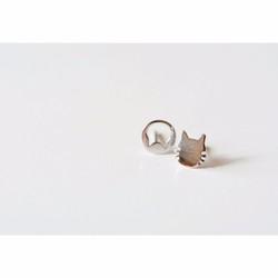 Bông tai nụ mèo con thời trang giá tốt