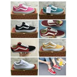 Giày van nhiều màu