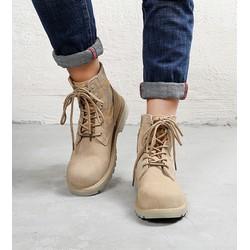 Giày nam cao cổ da lộn cao cấp