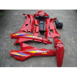 Dàn áo nhựa ABS  xe Wave nhỏ 100-110