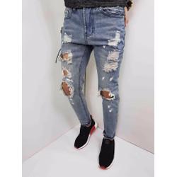 Quần jean nam wash thời trang