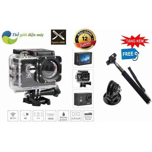 4K wifi action camera tặng kèm gậy selfire cực hot