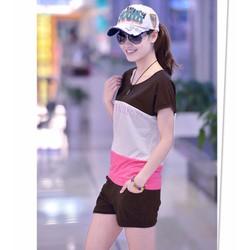 quần áo bộ phối màu fashion Mã: AA685 - ĐEN