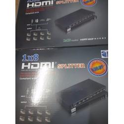 Bộ chia cổng HDMI từ 1 ra 8 Full HD 1.3b, 3D 1080P  OMEGA HDSP8