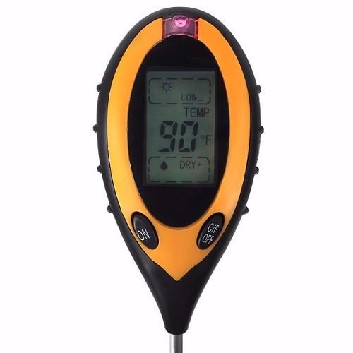 Máy đo pH, độ ẩm, nhiệt độ đất 4in1