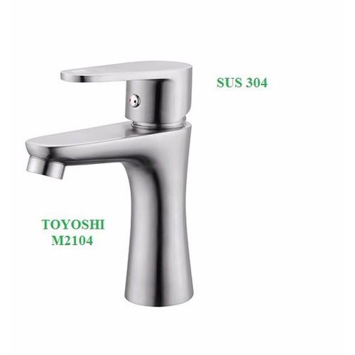 Vòi lavabo nóng lạnh TOYOSHI inox 304 - 10483947 , 7598878 , 15_7598878 , 660000 , Voi-lavabo-nong-lanh-TOYOSHI-inox-304-15_7598878 , sendo.vn , Vòi lavabo nóng lạnh TOYOSHI inox 304