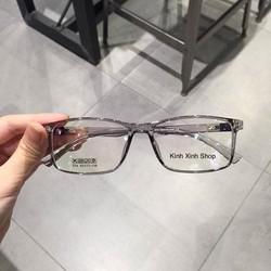 Kính Mắt vuông - Gọng nhựa siêu dẻo Hàn Quốc