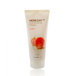 SỮA RỬA MẶT THE FACE SHOP HERBDAY 365 CLEANSING FOAM - PEACH