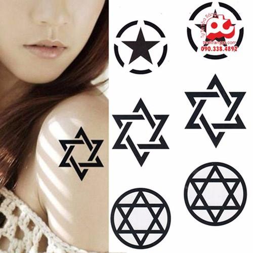 Mua 1 tặng 7 hình xăm tattoo đẹp | hình xăm dán | hình xăm cá tính