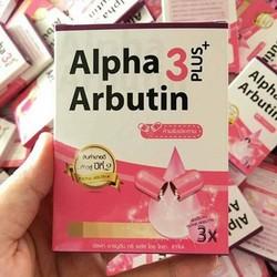 Viên kích trắng Alpha Arbutin thái lan_hộp 10 viên