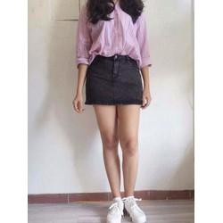 Chân váy short Jean
