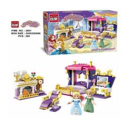 Lego mô hình phòng ngủ của công chúa Leia