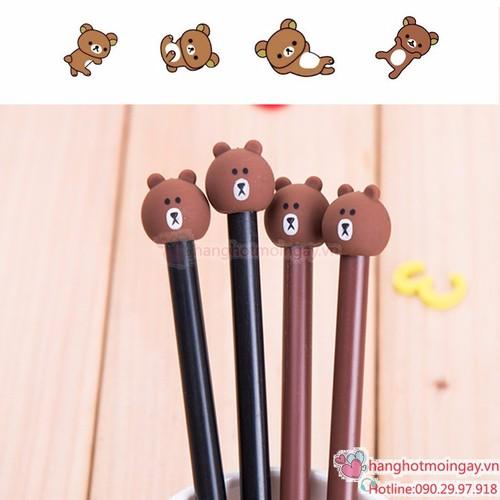 Bút bi nước gấu brown