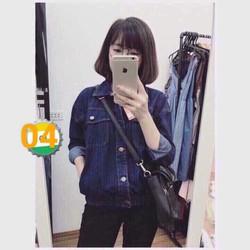 áo khoát jean nữ