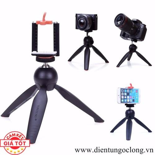 Giá đỡ tripod mini 3 chân cho điện thoại, máy ảnh 228