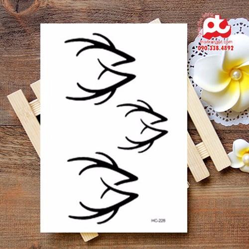Mua 1 tặng 7 hình xăm tattoo đẹp   hình xăm dán   hình xăm cá tính - 16922057 , 7820724 , 15_7820724 , 21000 , Mua-1-tang-7-hinh-xam-tattoo-dep-hinh-xam-dan-hinh-xam-ca-tinh-15_7820724 , sendo.vn , Mua 1 tặng 7 hình xăm tattoo đẹp   hình xăm dán   hình xăm cá tính