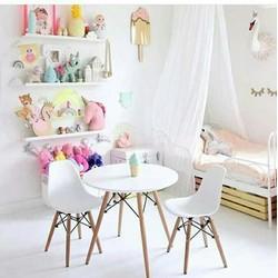 Ghế nhựa cao cấp - chân gỗ tự nhiên - nhiều màu sắc chọn lựa