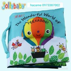 Sách vải The wonderful World of peekaboo