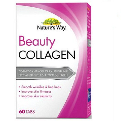 Viên uống collagen natures way beauty collagen - 60 viên
