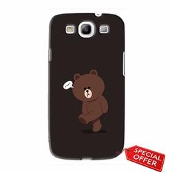 Ốp lưng nhựa dẻo Samsung Galaxy S3_Gấu Brown Dễ Thương
