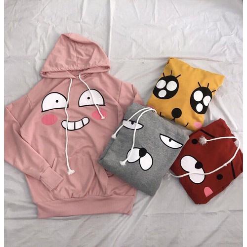 Áo hoodie cartoon