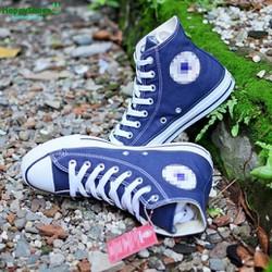 Giày Sneaker CV Classic xanh navy cao cổ hàng VNXK nữ